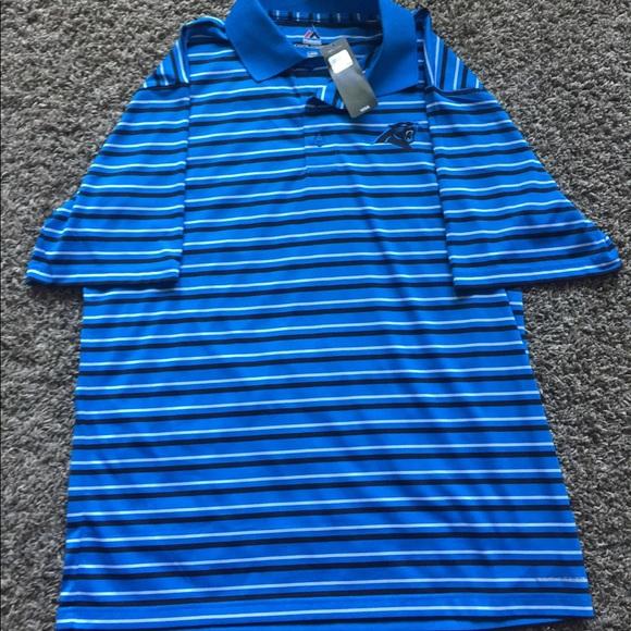 69e13699d Majestic Shirts | Carolina Panthers Nwt Nfl Polo | Poshmark